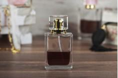 Стъклена бутилка за парфюм  парфюм 50 мл (pp15)