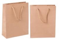 Подаръчна хартиена торбичка, с размери  190x80x240 mm
