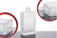 Стъклена квадратна  Матова бутилка за парфюм 60 мл (18/415)