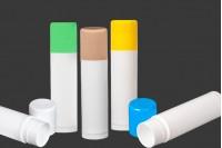 Пластмасови туби за балсам за устни  12 ml в различни цветове