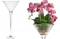 Стъклена чаша Мартини  - Large