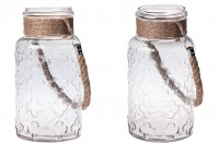 Декоративен буркан  4000 ml с дръжка без капачка  110x310 mm
