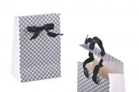 Подаръчна торбичка  със сатенена дръжка панделка , с размериο 105x67x150