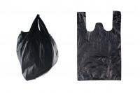 Пластмасови черни торбички с размери  32x50 cm