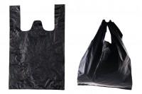 Пластмасова торбичка  35x55 cm черна