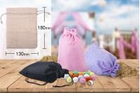 Торбичка за сватбена бонбониера 130x180 mm в различни цветове