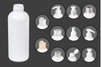 Бяла пластмасова бутилка 150 ml PP 24
