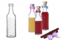 Малка бутилка за сватба или кръщене 50 ml *