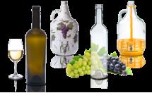 Бутилки за вино и ракия