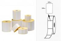 Термотрансферни етикети (MAT), хартия, самозалепваща се ролка 105x150 mm - 1000 бр