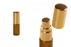 Малки стъклени карамелени шишенце със спрей пулверизатов 5мл  - 6 бр./опаковка