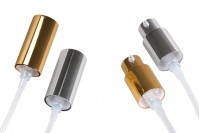 Алуминиева спрей помпа за крем ПП18 в различни цветове