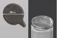 Самозалепващо се алуминиево уплътнение с размер  20 мм - 105 бр