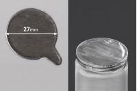 Алуминиево самозалепващо се уплътнение  27 мм - 60бр