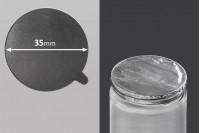 Самозалепващо се алуминиево уплътненит с размер  35 мм - 24 бр