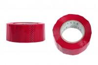 Червено тиксо  с широчина 54 мм - ролка от 91 метра