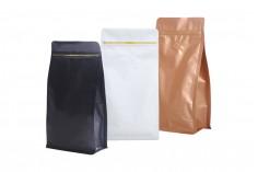 Алуминиева DOY PACK опаковка с цип с размери 135х265 мм в опаковка 25 броя