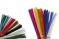 Цветни бамбукови пръчици за ароматизатору (диаметър  3 cm)