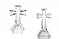 Стъклен  кръст  21см