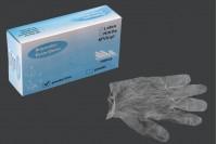 Винилови ръкавици с размер L за еднократна употреба - 100 бр
