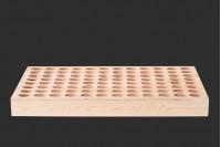 Стойка дървена 428x288x42- 96 места