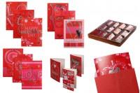 Поздравителни картички за Свети Валентин - 120 бр (различни дизайни)