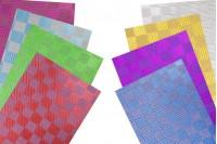 Целофан 50х70 см в различни цветове - 20 бр