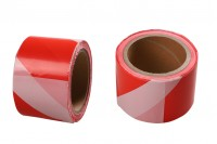 Пластмасова лента за маркиране с ширина 70 мм - Парче (ролка) от 100 метра