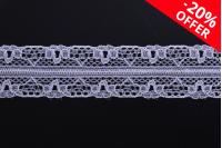 Мека найлонова дантела  20 mm - 10 метра на парче