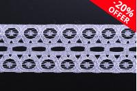 Мека найлонова дантела с ширина 28 мм - 10 метра на парче