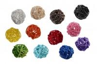 Декоративни цветни топки за пръчки ароматизатори (диаметър 3 см)