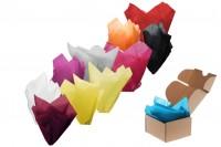 Цветна хартия с размери  50x75 см - 50 бр/пакет
