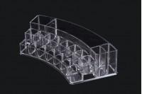 Пластмасова стойка на 3 нива 300x118x65 mm (19 позиции)