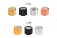 Капачки алуминиеви  за пипети от 5 мл до  100 мл в различни цветове