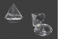 Пластмасови прозрачни кутийки- 12 бр