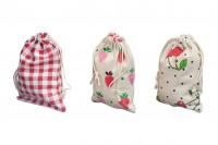 Торбичка бонбониера 100х140 мм в различни цветове  дизайн