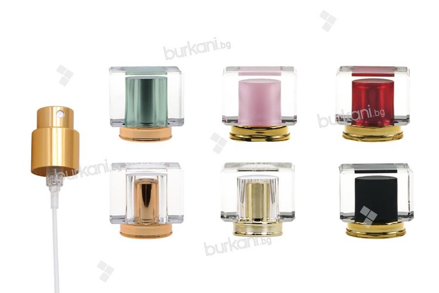 Комплект - златист спрей с капачка акрил в различни цветове (pp15)