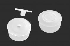Пластмасова тапичка за бутилки с гърловина  PP28 - 20 бр./опаковка
