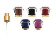 Комплект - златист спрей с различни цветове капачки (pp15)