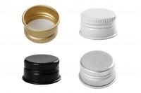 Алуминиева винтова капачка с размер  23.5х15 (PP24) без защитен пръстен