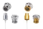 Комплект - спрей и капачка акрил (PP 15) в златист или сребрист цвят