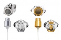 Комплект - спрей и капачка акрил (PP 15) - златисто или сребристо