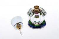 6 мл кристална бутилка с кристална капачка и игла