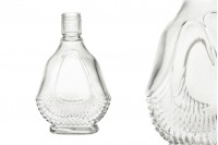 Стъклена бутилка с размери 90x38x145 - 130 ml
