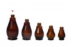 Стъклена кафява бутилки за етерични масла (PP18)