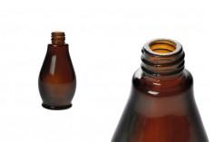 Стъклена кафява бутилка за етерични масла 50 ml (PP18)