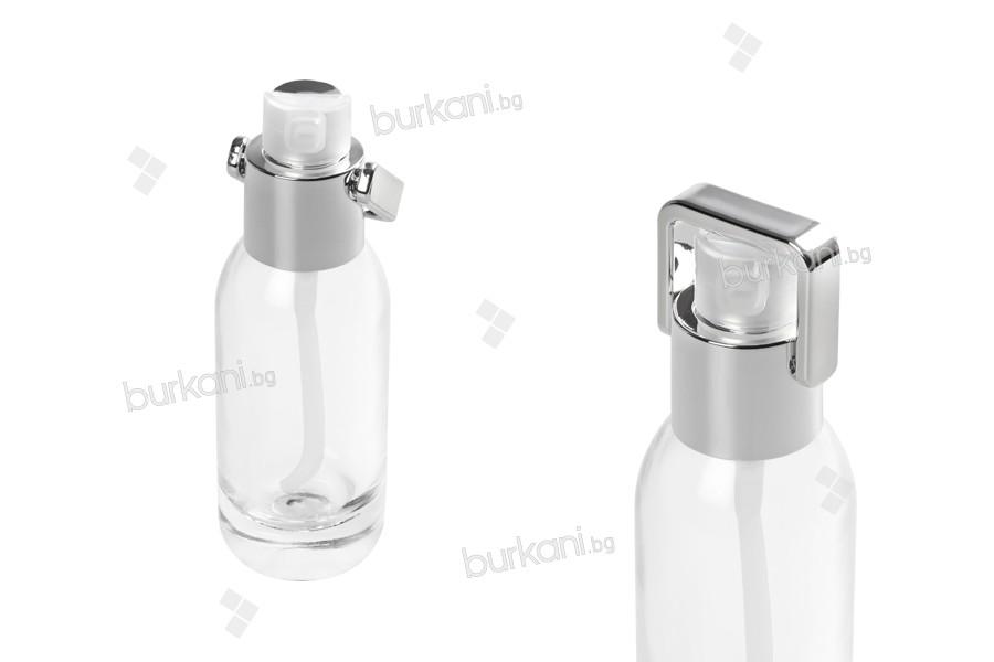 Стъклена козметична бутилка 30 мл