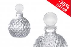 Промоция ! Стъклена бутилка 105 мл със стъклена бутилка