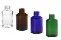 Стъклена бутилка 100 мл ПП24 в различни цветове