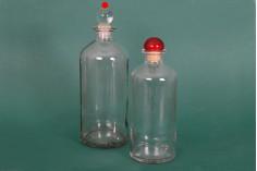 Стъклена цилиндрична бутилка 700 мл